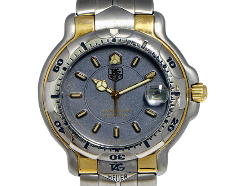 check out 1d681 32994 TAG HEUERタグ・ホイヤー】WH1152 6000シリーズ SS/GP デイト ...