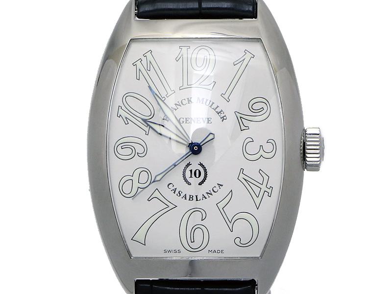 wholesale dealer e5b62 3e10b FRANCK MULLER フランクミュラー】8880C カサブランカ 10周年 ...